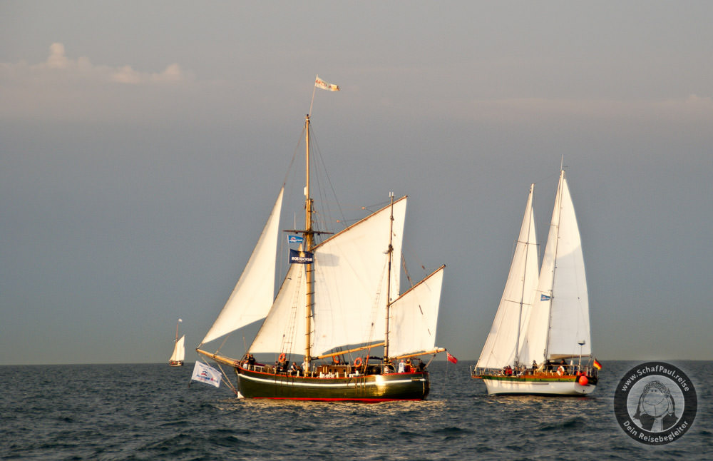 Traditionssegler auf der Hanse Sail 2010
